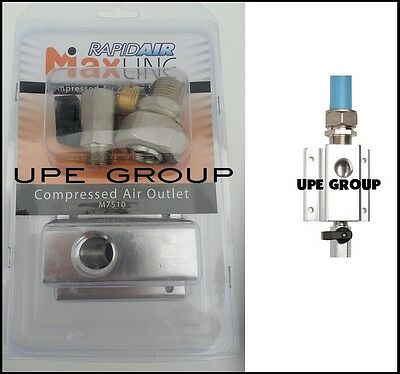 "Rapidair MAXLINE Compressed air piping tubing Outlet Kit  3/4""  M7510"