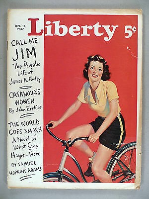 Liberty Magazine - September 18, 1937 -- Mister Ed, the Talking Horse - Mr Ed