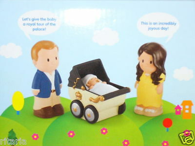 THE ROYAL BABY 2013 HRH PRINCE GEORGE EARLY LEARNING CENTRE HAPPYLAND PLAY SET