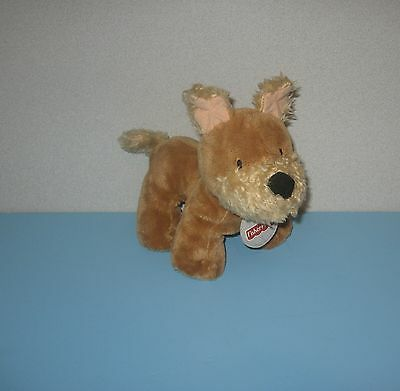 """2003 Fisher Price 8"""" Terrier Stuffed Plush Puppy Dog """"Aimie"""" March 2nd  #G3399"""