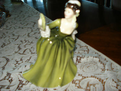 "Royal Doulton's ""simone"" Figurine/doll!fast Shipping!"