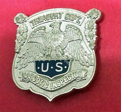 Narcotic Inspector Badge 1 Inch Lapel Pin