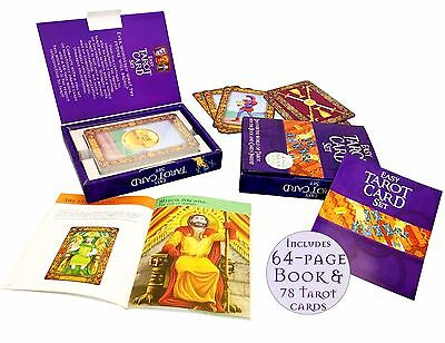 Jumbo Large Tarot Cards Deck and Easy Book Set Collection Gift Pack Psychic Read