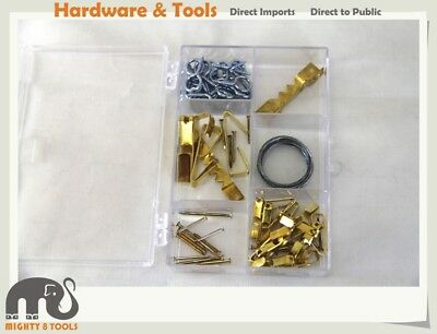 Picture Hanging and Assorted Cup Hook Kits Wire Assorted Hooks Nail (1905037001)