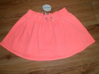 New With Tags M&s Girls Bright Pink Skirt 16 Years Cotton Summer Holiday