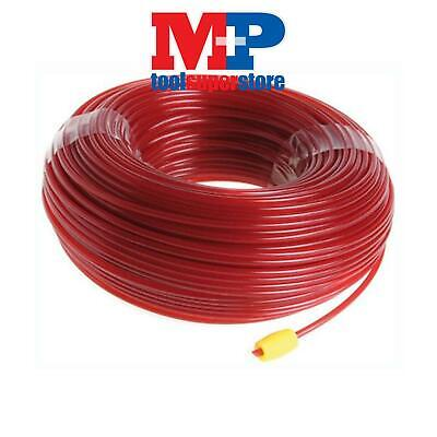 Ryobi Rac105 Petrol Garden Strimmer Trimmer Spool Line Red 2.4Mm Diameter 50M