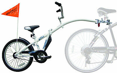 NEW WeeRide Co-Pilot Child Bike Bicycle Trailer Seat Copilot Tandem Safety Flag