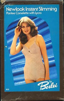 Vintage BNIB Berlei Pantee Corselette Smooth Control Body/All in One
