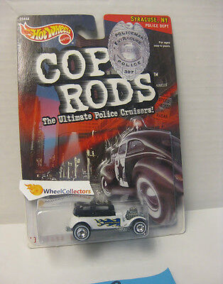 32 FORD VICKY * Cop Rods  Hot Wheels