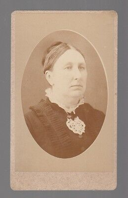 [38912] Old Cdv Photograph Of Older Woman