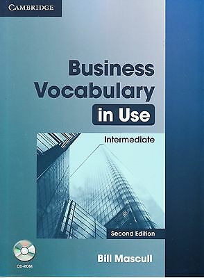 Cambridge BUSINESS VOCABULARY IN USE INTERMEDIATE with CD-ROM Second Edition NEW