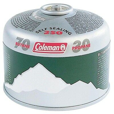 Coleman 250 Resealable Gas Cartridge 220g Butane / Propane mix # 73250