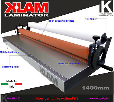 "Cold Laminator 55.1"" 1400mm 