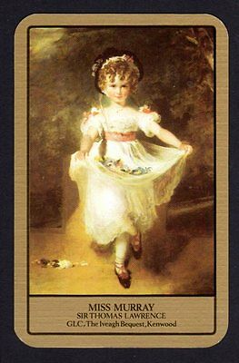 Vintage Swap/Playing Card - Titled - Miss Murray