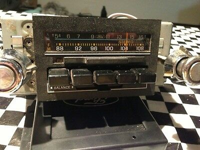 67- 85 FORD MERCURY LINCOLN RADIO AM FM E4AF-19A241-AA TESTED!!!! BEST DEAL!!