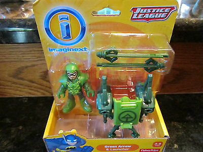 Imaginext DC Super Friends Fisher Price Justice League new Green Arrow Archer