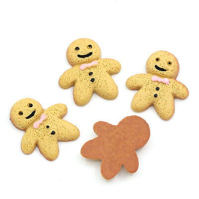 "20PCs Resin Embellishment HQ Findings Kids Biscuits Shape 18x17mm( 6/8""x 5/8"")"