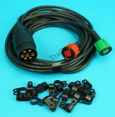 4 metre 'Quick Fit' Wiring Loom Harness for Radex 5 Pin Plug In Lights