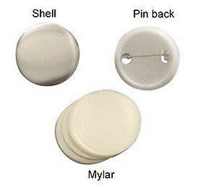"Wholesale lot of 1000 Sets 1"" 25mm Clip Button Parts Supplies for Maker Machine"