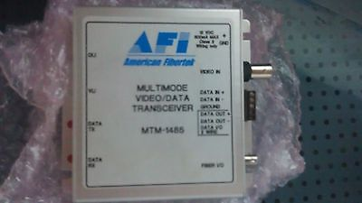 American Fibertek MTM-1485 Video/Two Way RS485 Module