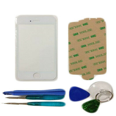 White Genuine Part iPhone 5 5G Front Glass Replacement Outer Screen Lens tools