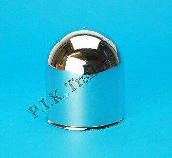 Chrome Finish Towball Cover Cap to fit Standard 50mm towball Trailer Motor Home