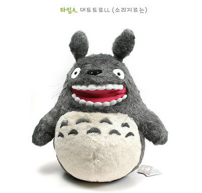 "Studio Ghibli 11"" Roar  Totoro Plush Doll Toy New My Neighbor Totoro"