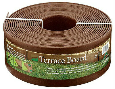 Master Mark Plastics 95340 Terrace Board 5-Inch-by-40-Foot Landscape Edging Coil