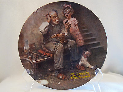 """""""The Cobbler"""" Norman Rockwell Heritage Collection"""