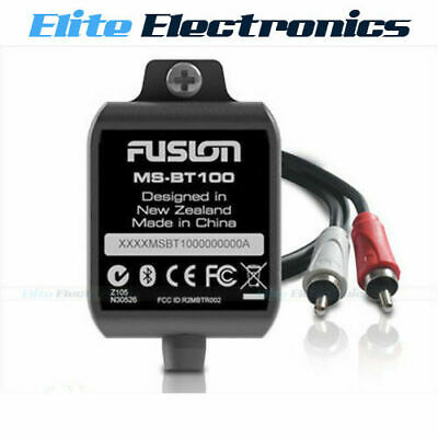 FUSION MS-BT100 BLUETOOTH MARINE MODULE FOR MS-RA50 MS-IP600G MS-AV600 MS-AV700i