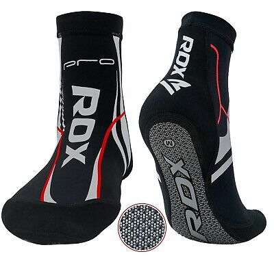 RDX MMA Grip Training Fight Socks Boxing Foot Ankle Brace Support Guard Pad US