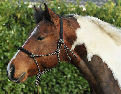 HKM Rope Halter Padded on Nose & Neck Head Collar