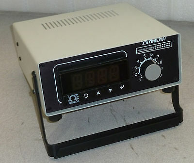 Omega MDSSi8A-TC Benchtop Digital iSeries Thermometer Ten-Channel Model