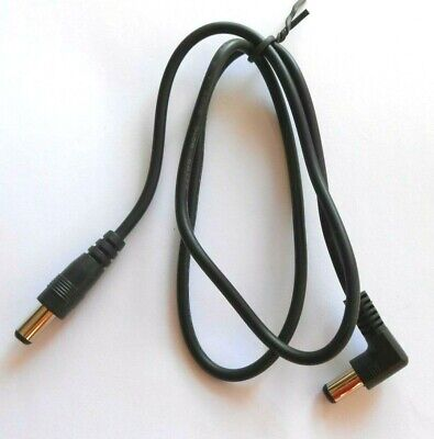 2 X Guitar Effects Fx Pedal Multi Power Supply Dc Connecting Cable - 2Ft Long