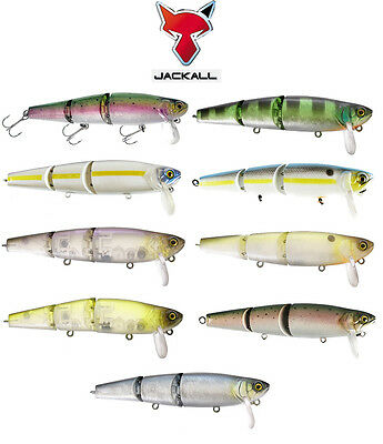 "JACKALL MIKEY JR FLOATING SWIMBAIT 3.8"" (95 MM) various colors"