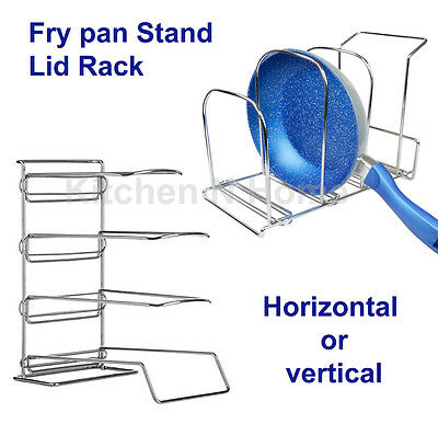 Storage Rack, Stand, Holder, Organizer, for Fry Pan, Lids, Cutting boards