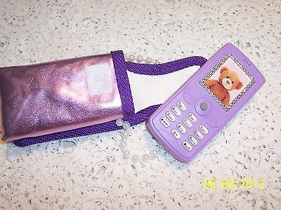 Design a Bear Purple WORKING Musical Mobile Phone with Purple Decorated Case