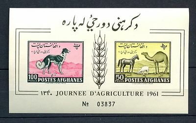 Afghanistan 1961 Agriculture MNH Imperf M/S #A32465