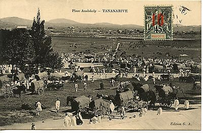Colonies Francaises Madagascar Tananarive Place Analakely