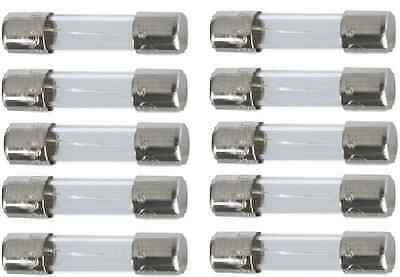 10 X 20Mm Fast Acting Quick Blow Glass Fuse Fuses 500Ma To 10 Amp