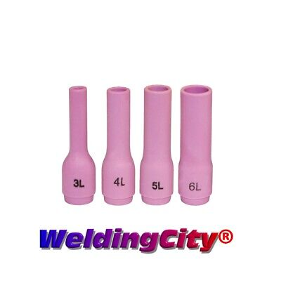 4-pk TIG Welding Long Ceramic Cup 796F #3-#6 Torch 9/20 | US Seller Fast Ship