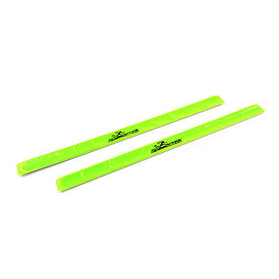 SpeedPark Fluorescent Reflector Bands 2 pcs - Fluorescent Yellow