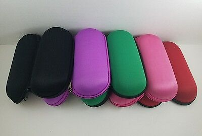 "6"" Padded Pouch Hard Case Protective for Smoking Pipe Storage Zipper Carry Case"