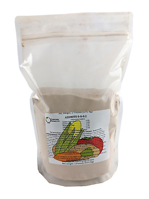 AZOMITE Powder Micronized Trace Mineral Volcanic Ash Rock Dust Powder 2 LB