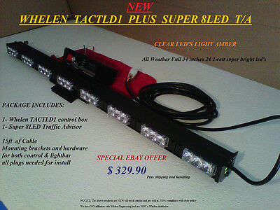 whelen tactld1 traffic advisor controller • 60 00 picclick whelen control new 8led weather resistant traffic advisor