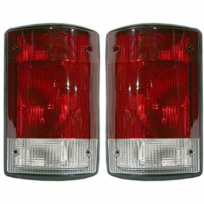 Fits 04-05 Ford Excursion / 04-14 E- Series Tail Lamp / Light Right & Left Set