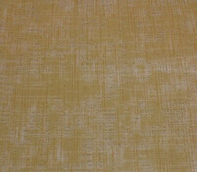 Donghia Heirloom Vintage Antique Beige Golden Velvet Exclusive Fabric Remnants