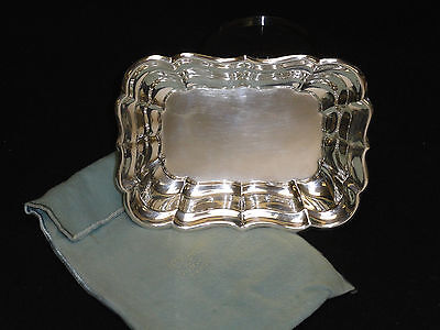 "EXQUISITE REED & BARTON STERLING SILVER BON BON BOWL X958B WINDSOR 6.75"" / 130 g"