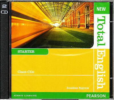 Pearson NEW TOTAL ENGLISH Starter Class CD's | Jonathan Bygrave @NEW & SEALED@