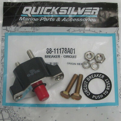 Mercruiser New OEM 50 Amp Circuit Breaker 88-806950, 88-11178A01